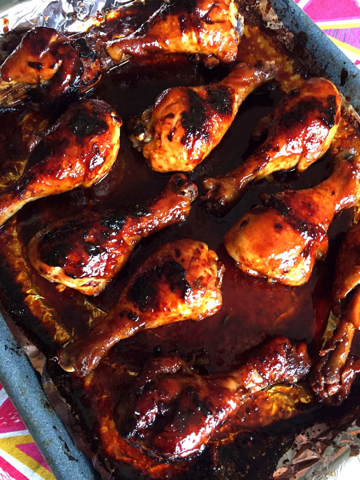 Honey Soy Bbq Baked Chicken Legs Recipe Baked Chicken Legs Bake Chicken Leg Recipe Chicken