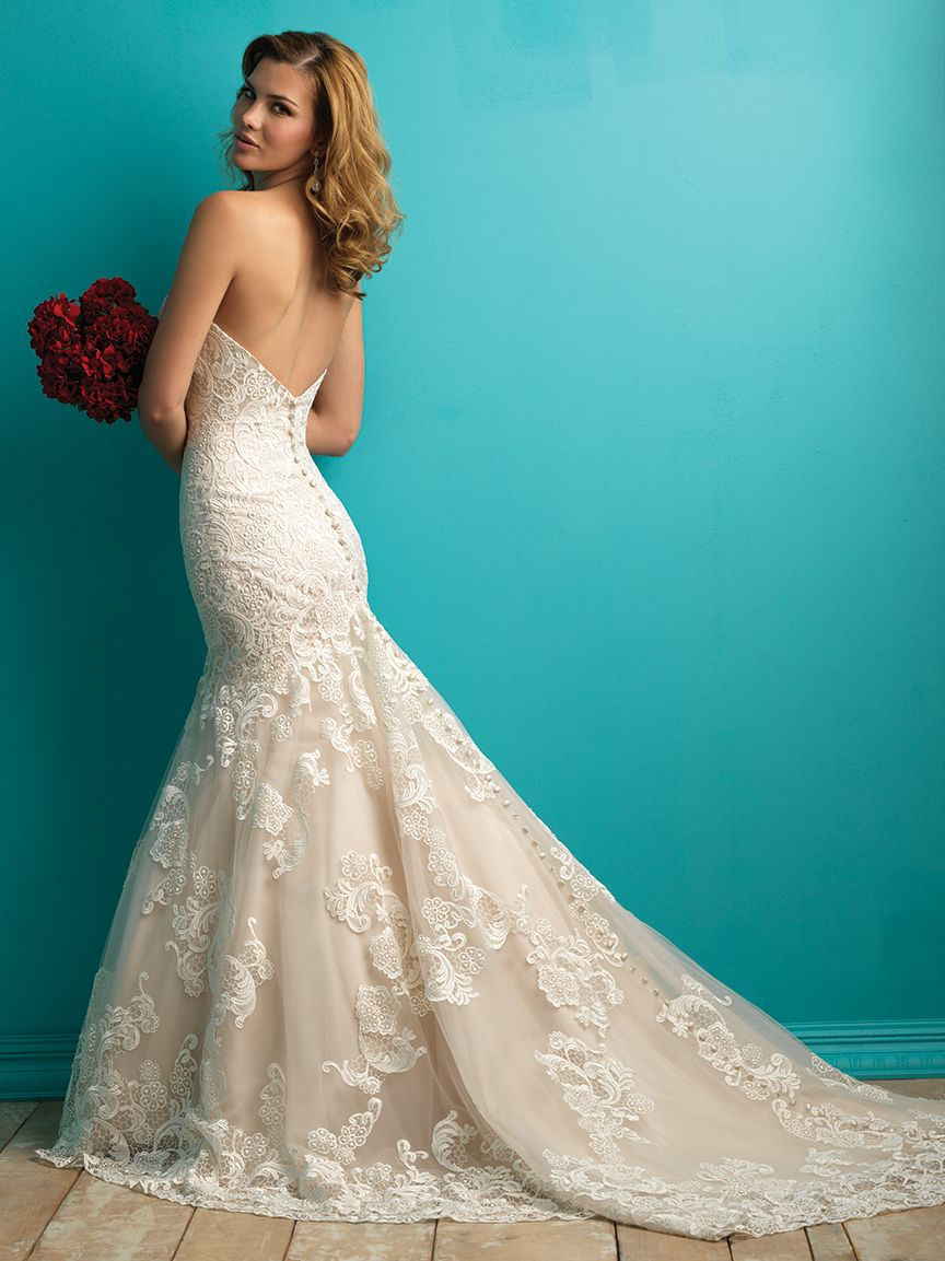 Allure Bridals 9257 | allure bridals | Pinterest | Allure bridal ...