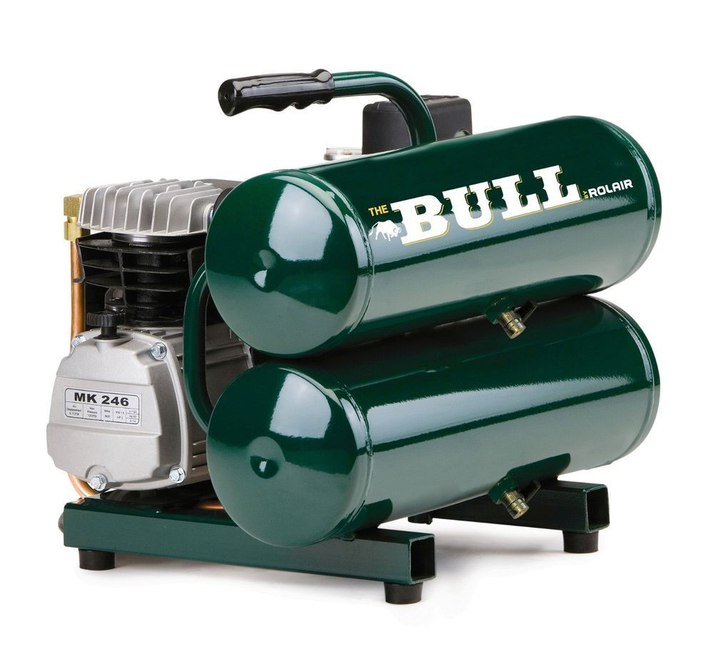 New Rolair Fc2002 2 Hp The Bull Air Compressor Authorized Dealer Best Portable Air Compressor Air Compressor Portable Air Compressor