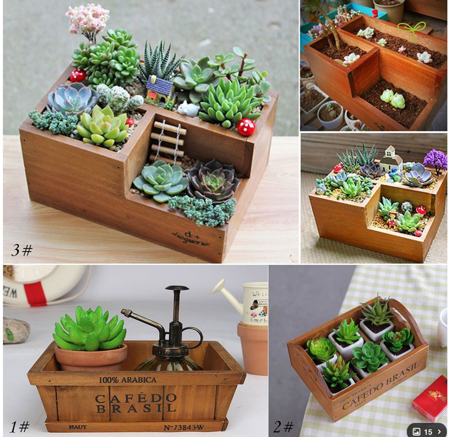 Garden Planter Picture  More Detailed Picture About Wooden Pot