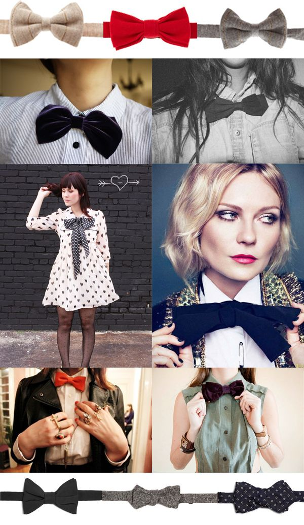Look - How to pinterest a bow tie wear video