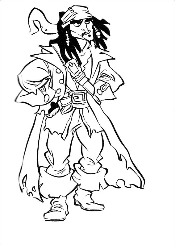 Pin On Disney Pirates Of The Caribbean Coloring Pages Disney