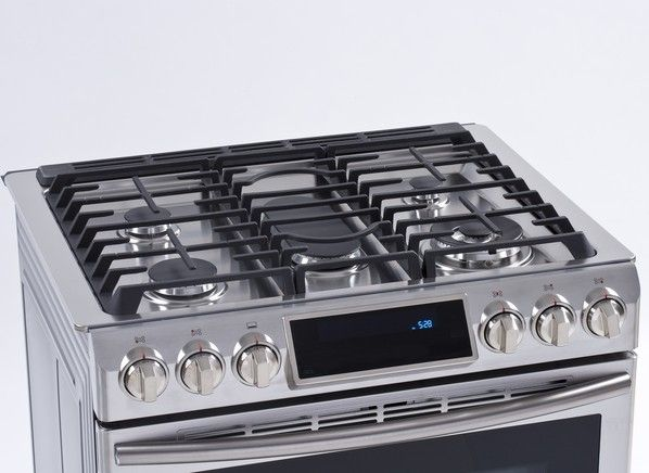 best kitchen stoves small white cabinets gas ranges from consumer reports tests top rated