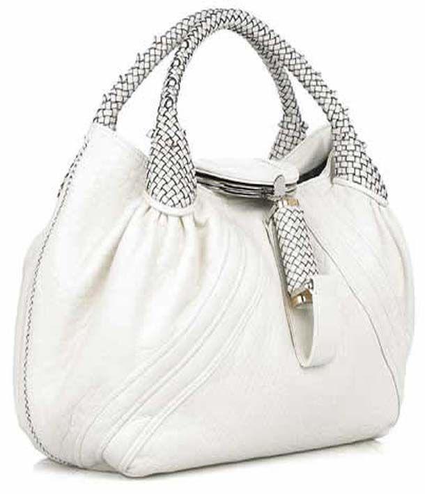 White Simply Beautiful Handbag