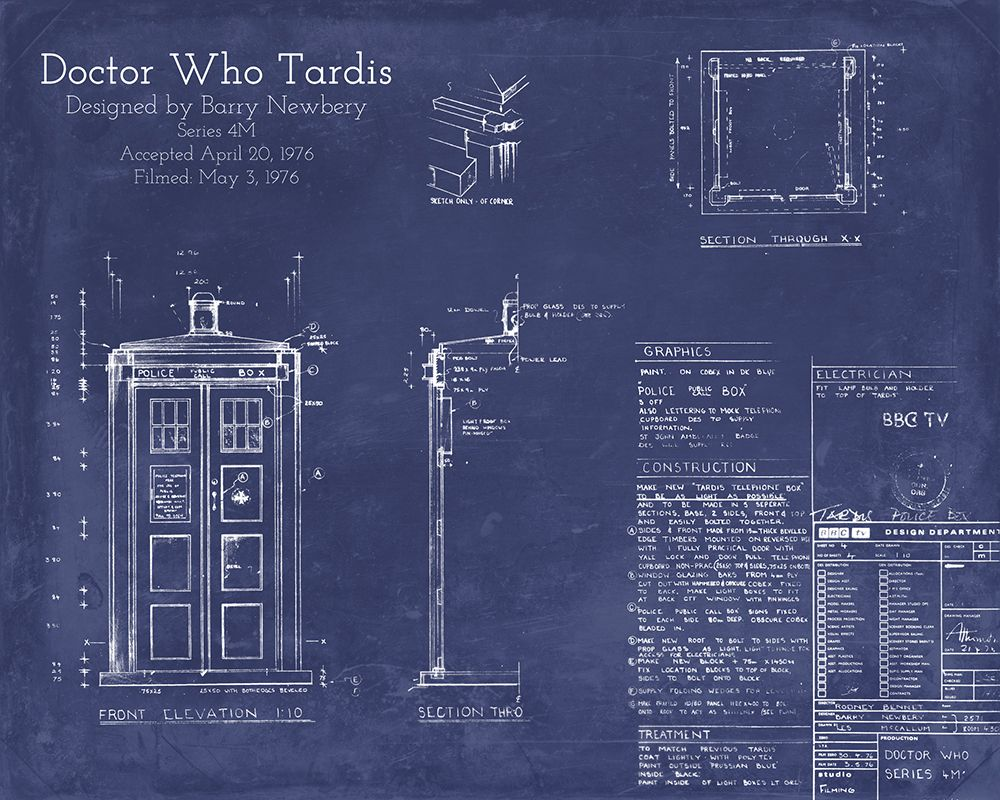 Blueprints for the tardis blueprint pinterest tardis 10th blueprints for the tardis malvernweather Image collections