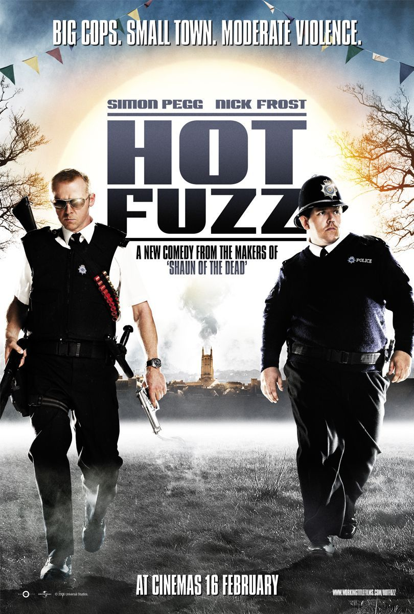 Image result for HOT FUZZ ( 2007 ) POSTER