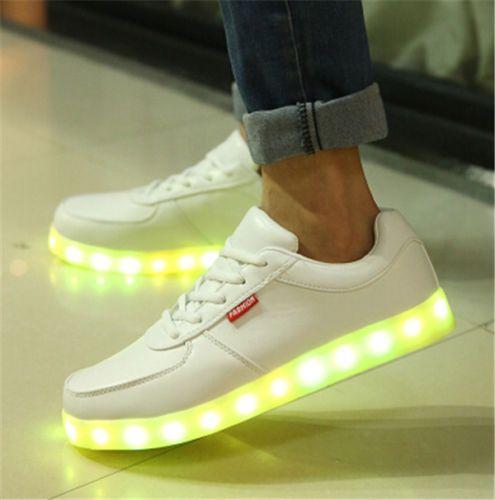 Men-Women-LED-Night-Light-Couples-Light-Up-Trainer-Shoes-Lovers-High-top-Sneaker