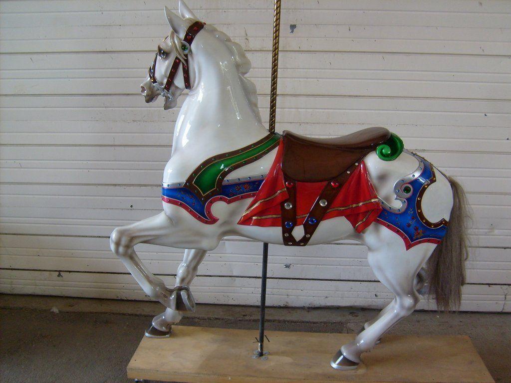 National carousel association denver zoo carousel african wild dog - Carousel Horses