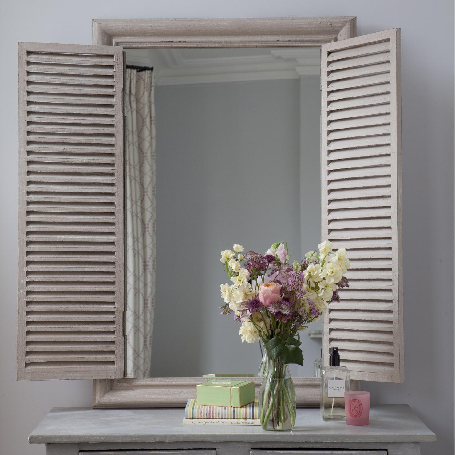 Discount Homegoods: Shutters, Mirror, Diy Mirror