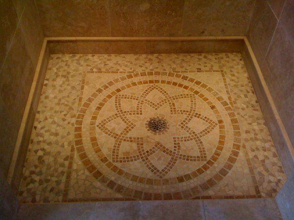 mosaic tile flooring designs Shower Floor Mosaic SHOWER FLOOR