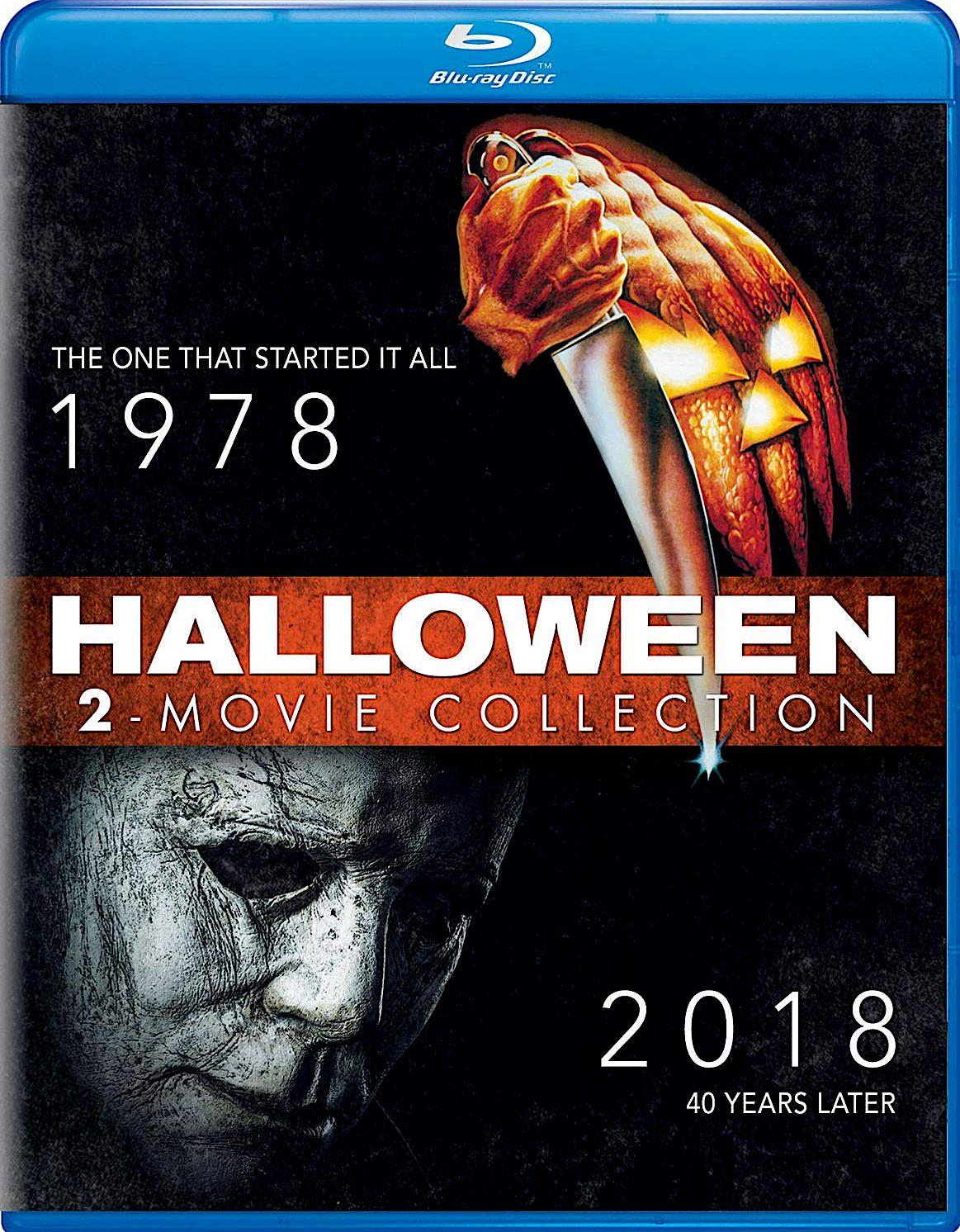 HALLOWEEN (1978) / HALLOWEEN (2018) BLURAY (UNIVERSAL