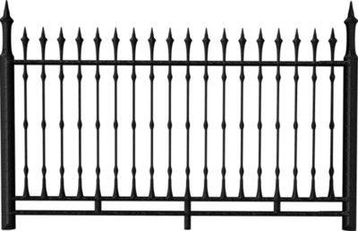 Pbp Jsd Om Fence Png Iron Fence Photoshop Landscape Fence