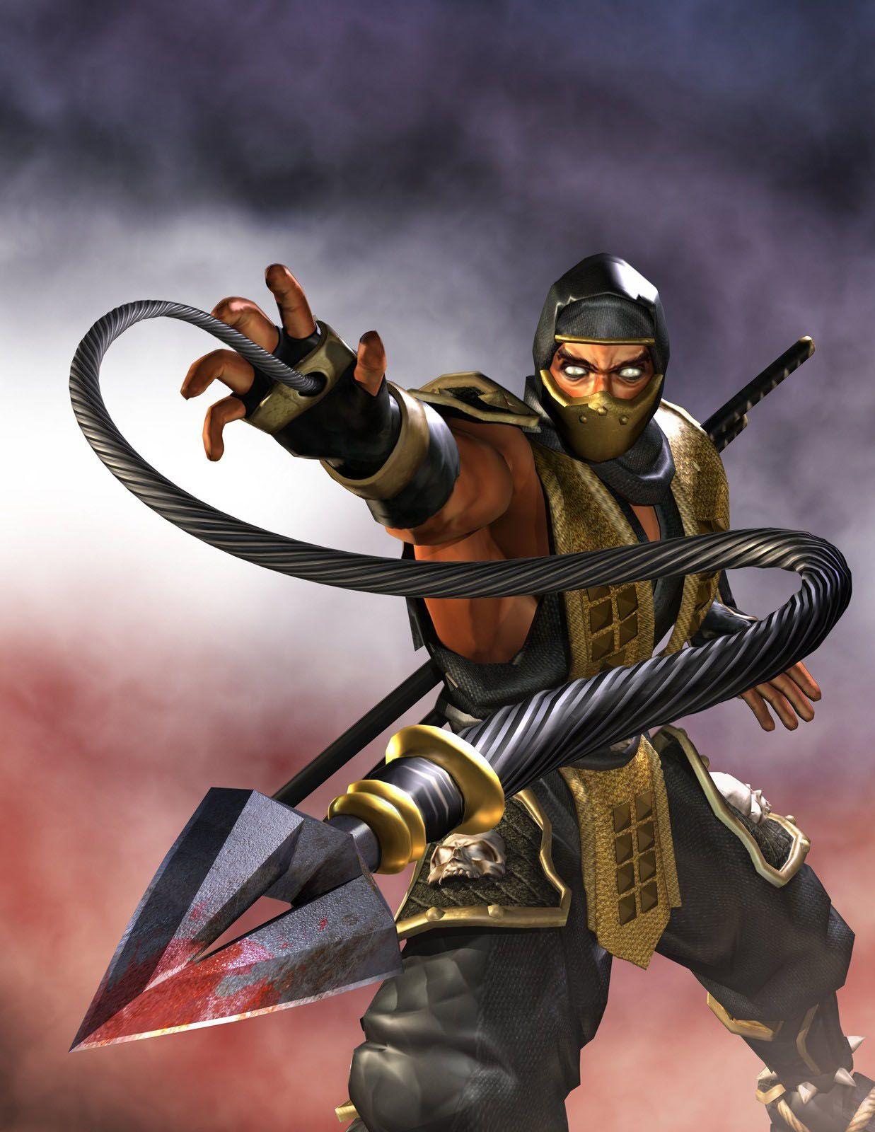 Mortal kombat scorpion mortal kombat scorpion mortal