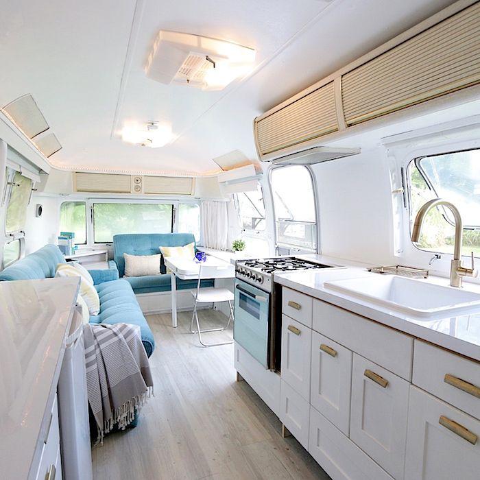 Airstream Interior, Camper Interior Design