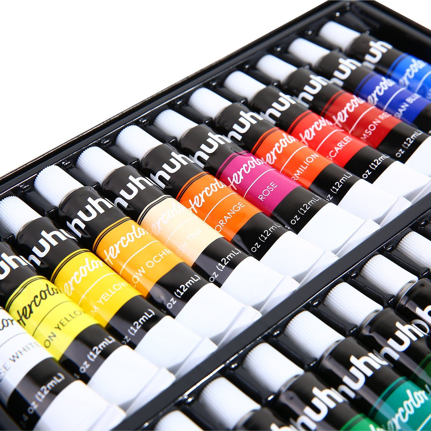 Watercolor Paint Set 24 Colors Ohuhu Artists Water Color Painting