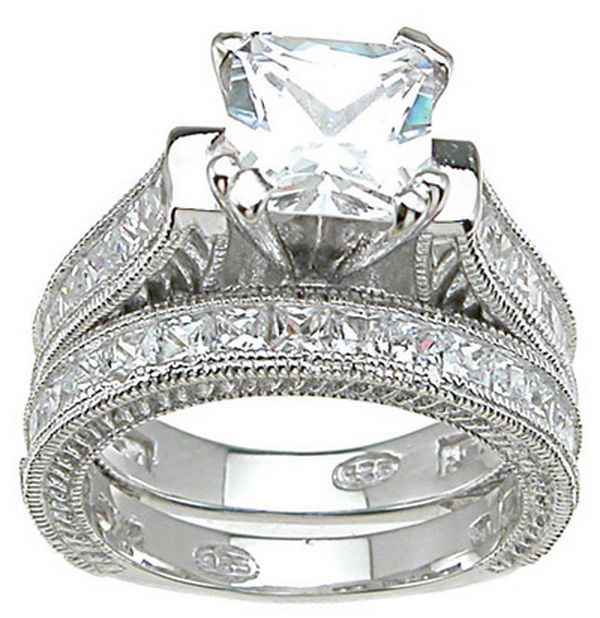 Attractive and Gorgeous Wedding Ring Sets