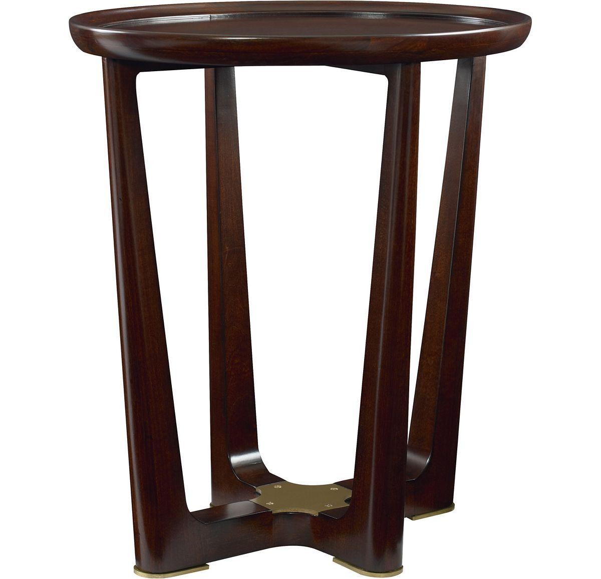 Varick Side Table | Living rooms, Walnut veneer and Sofa tables