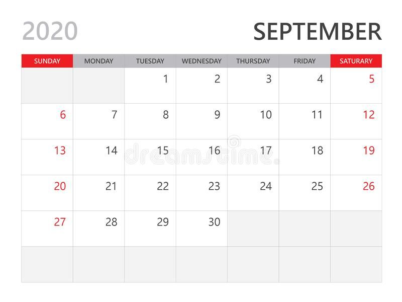 Calendar 2020 Template September 2020 Year Corporate Design Planner Template Sponsored September Ye Calendar Template Planner Template Planner Design