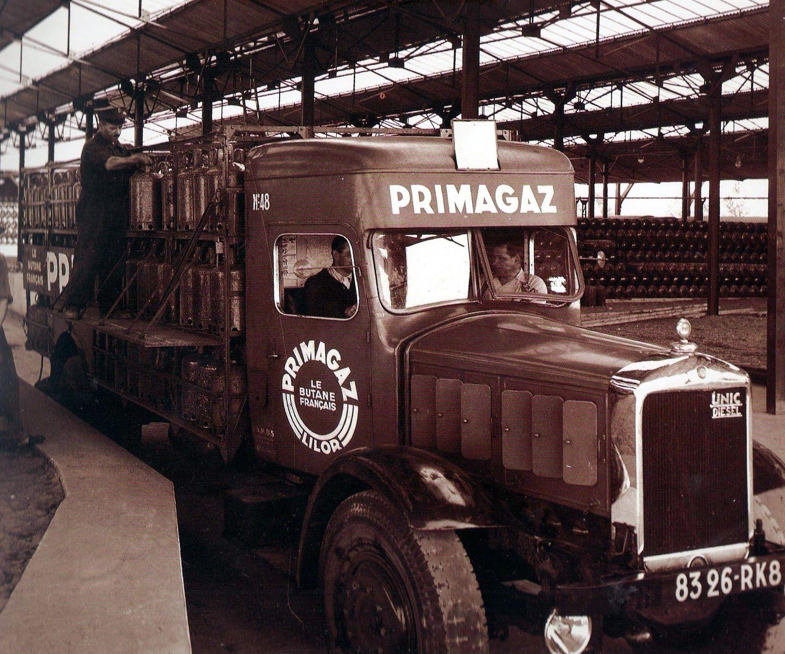 Camion De Distribution Energie