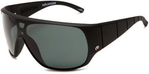 Electric Visual Shaker Polarized Sunglasses Matt Black Frame Grey Poly  Polarized 31a979a74f