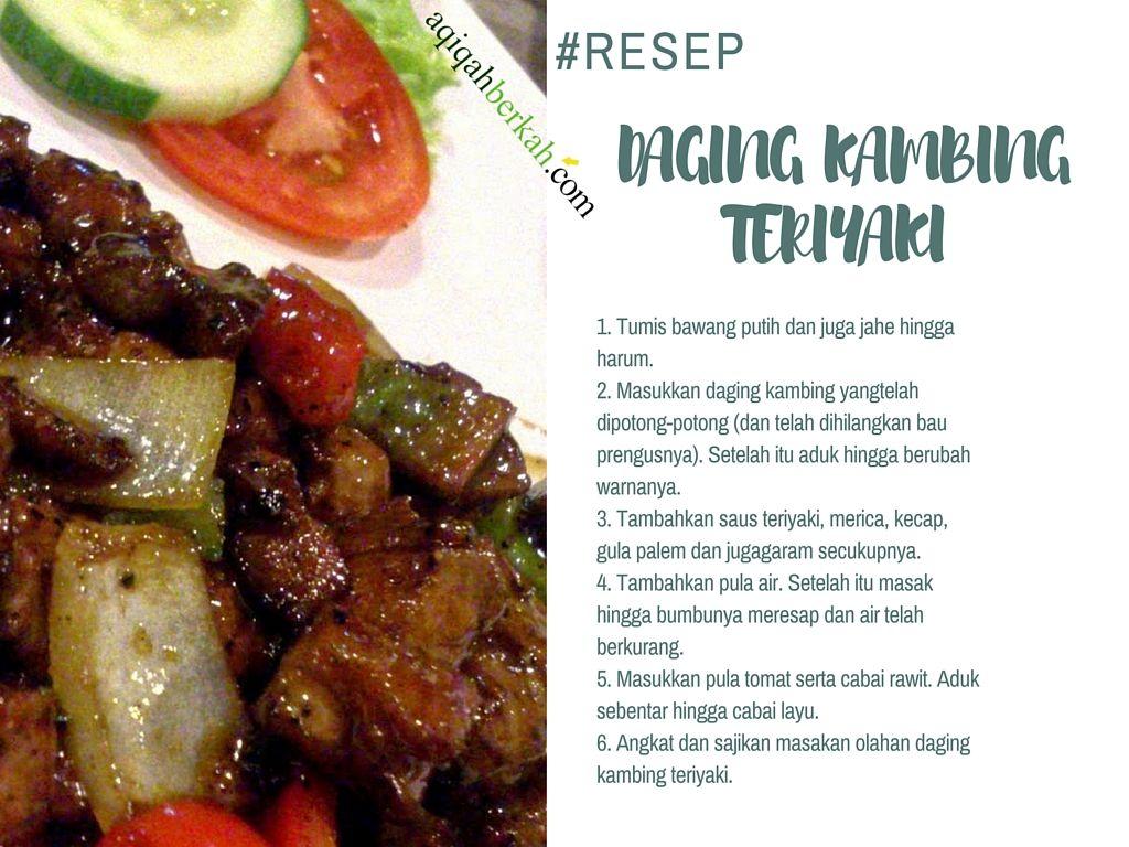 Resep Masakan Olahan Daging Kambing Resep Masakan Daging Kambing Makanan