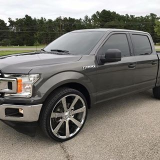 2018 F150 Xlt With 17k Miles On It 26s And 2in Lower Kit In The
