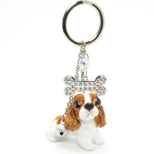 Keychain Silhouette Cavalier King Charles Spaniel