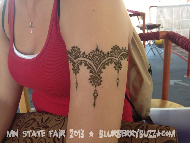 Mehndi Lace Tattoo : Mn state fair hennas mehndi and mehendi