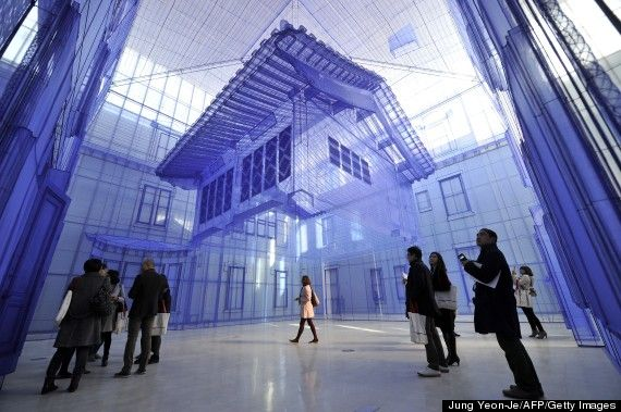 The Phrase Fabric House Might Bring To Mind A Mental Image Of A Play House Or Perhaps An Uncreative Do Ho Suh Installation Art Contemporary Art Installation