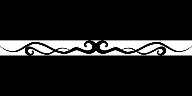 Free Image On Pixabay Flourish Line Border Decoration Decorative Lines Clip Art Borders Beautiful Pencil Drawings