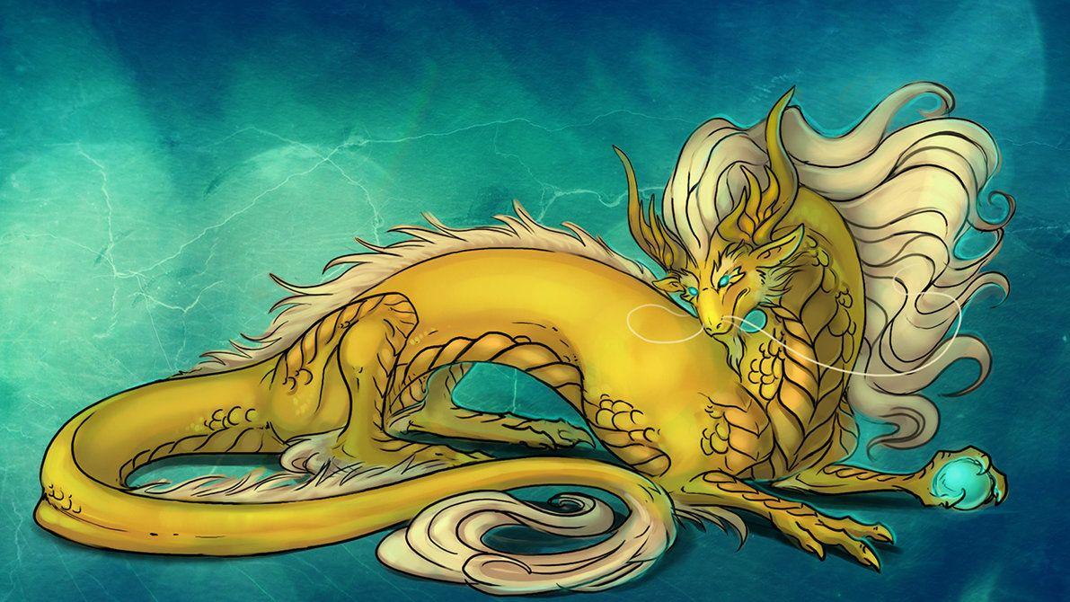Восточный дракон картинки