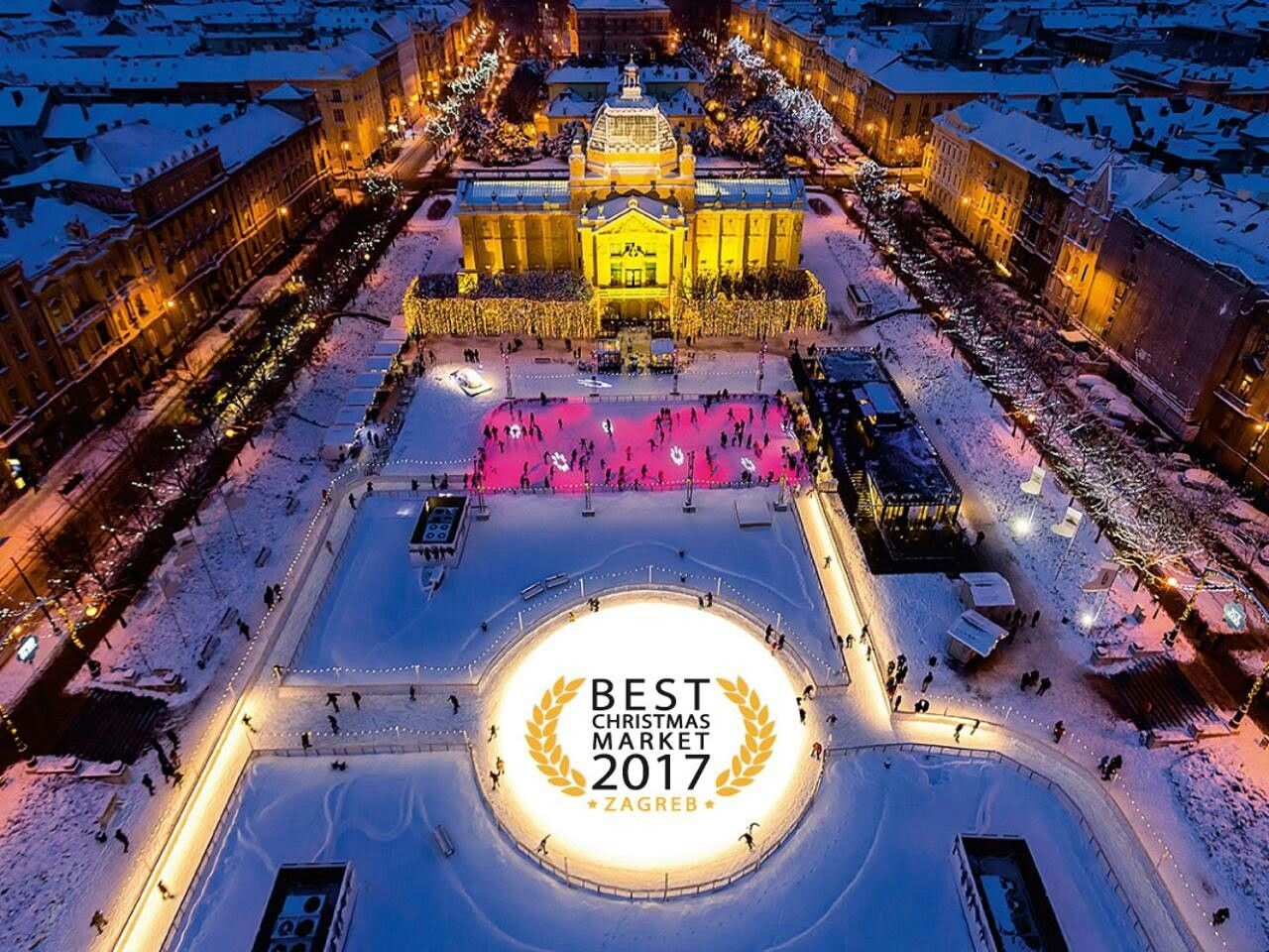 Zagreb Capital Off Croatia Christmas Markets Europe Christmas Market Best Christmas Markets