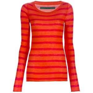 Coraline Orange And Red Striped Shirt Google Search Red Striped Shirt Stripe Sweater Costume Shirts
