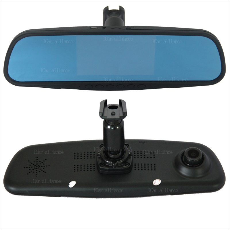 91.47$  Buy now - http://alicha.worldwells.pw/go.php?t=32775529506 - Car DVR For chevrolet aveo dual lens Driving Video Recorder Rearview mirror Dash Cam Parking Monitor with Speical Bracket 91.47$