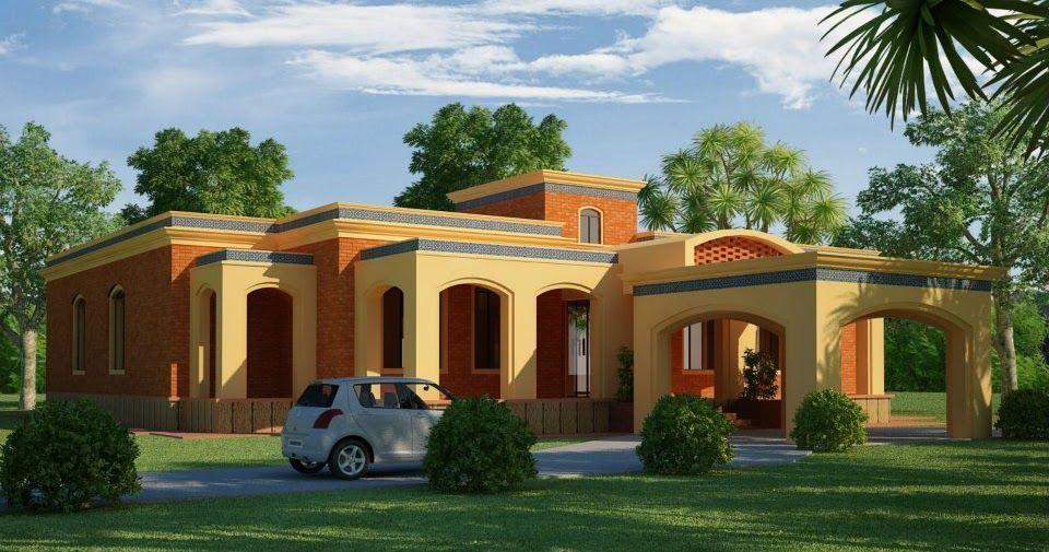 Lahore Pakistan 3d Front Elevation House Design House Plansfarmhouse In Karac In 2020 House Design Pictures Interior Architecture House Contemporary Architecture House