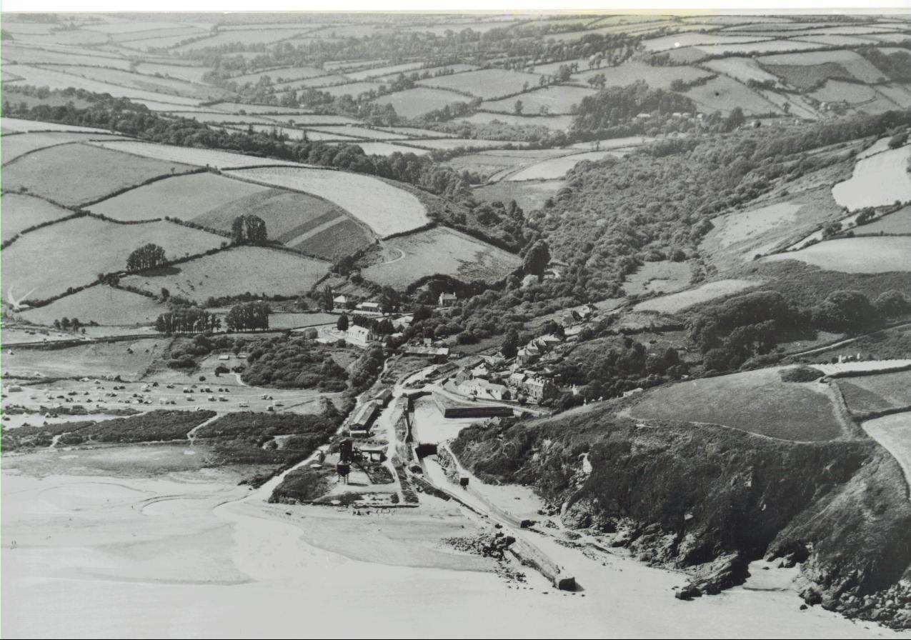 pentewan in 1950