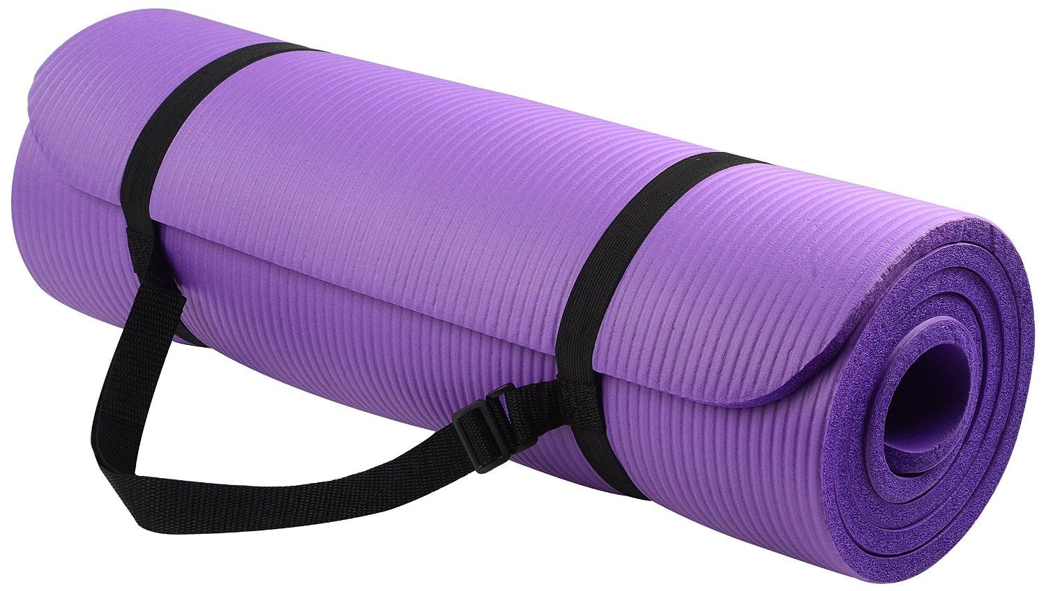 Balancefrom Goyoga All Purpose 1 2 Inch Extra Thick High Density Anti Tear Exercise Yoga Mat With Carrying Strap Yoga Mats Best Yoga Fitness Mat Exercises