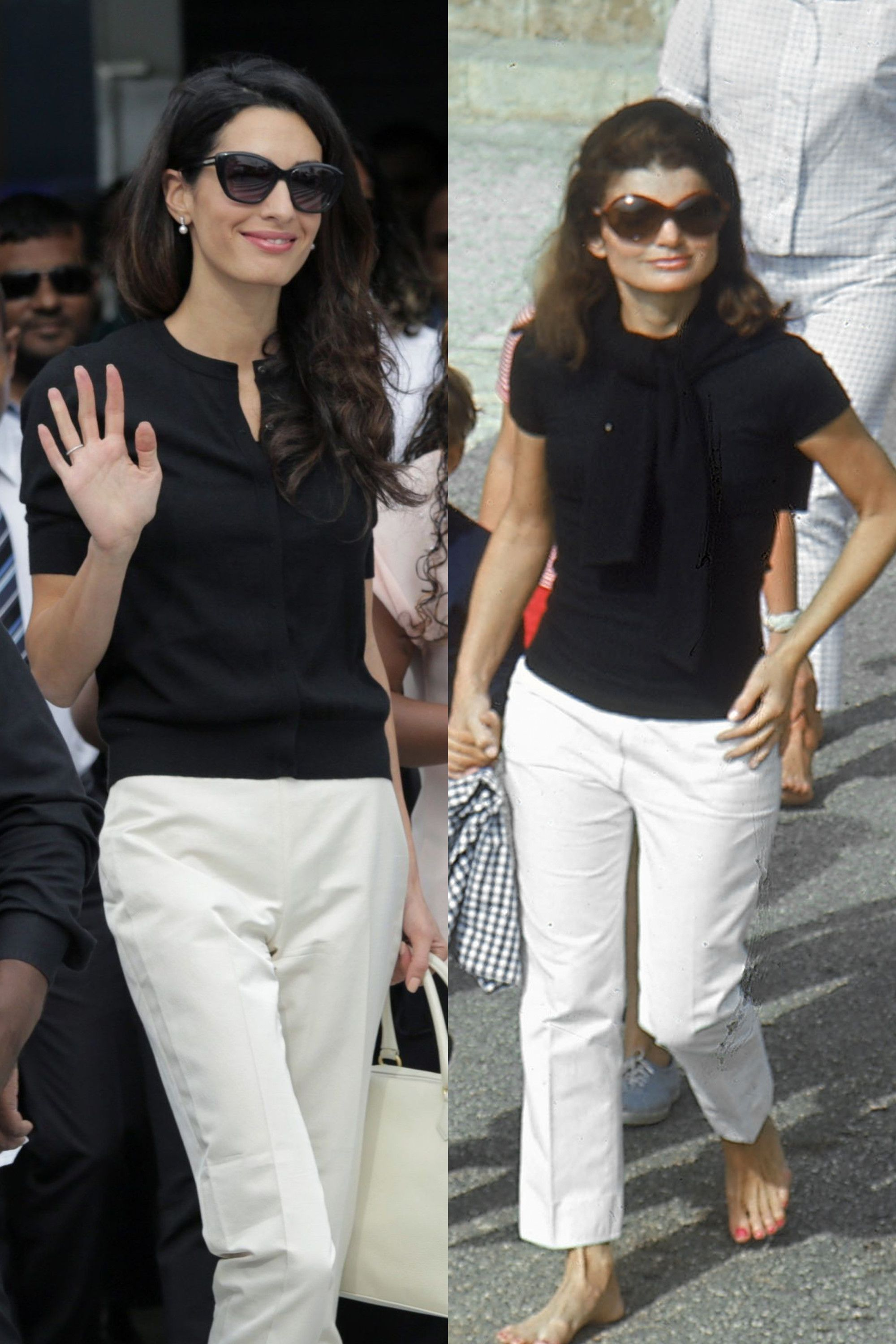 14 Times Amal Clooney Channeled Jackie Kennedy's Style | My