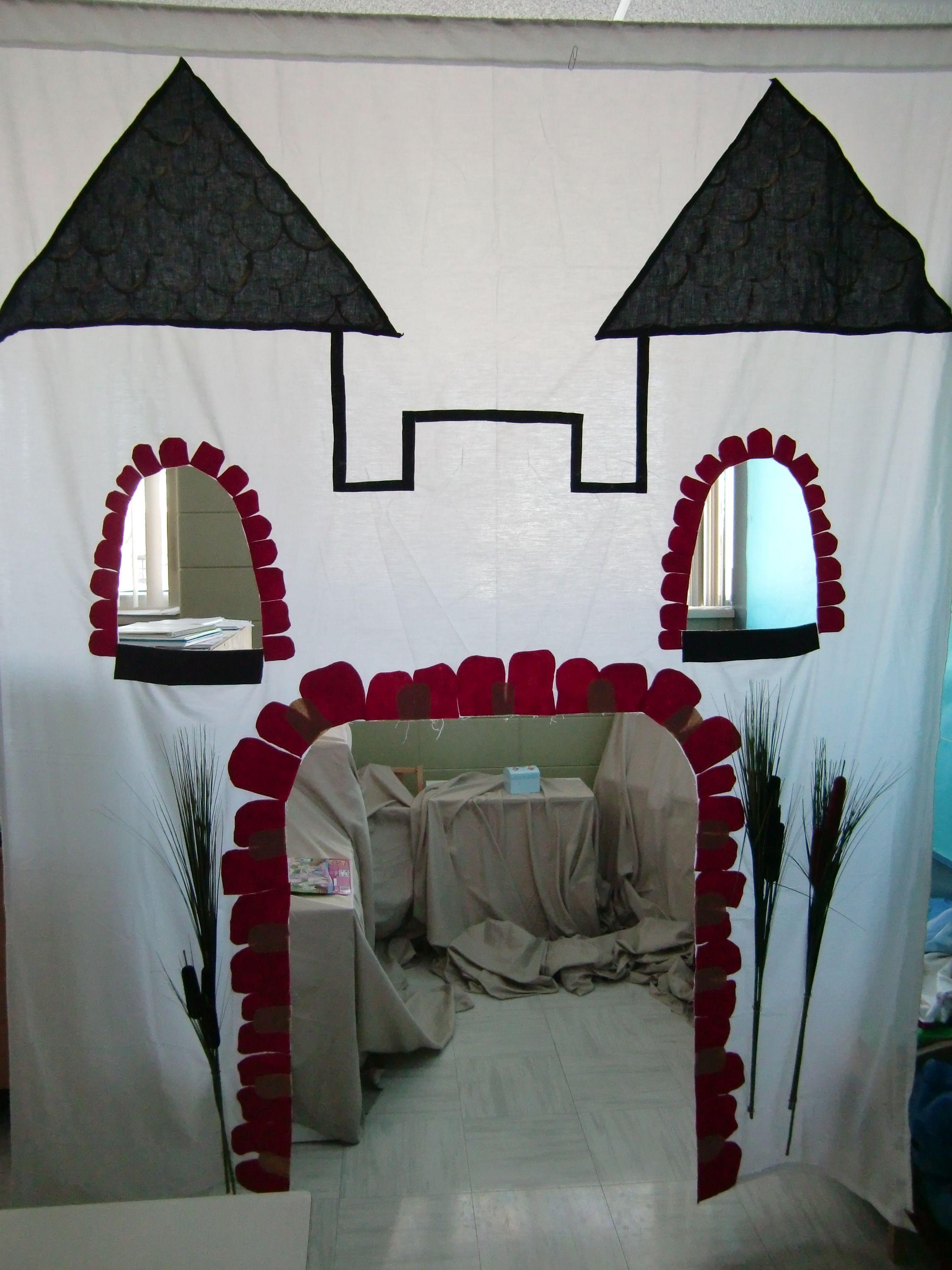 Afscheiding themahoek kasteel kan natuurlijk ook andere - Schulfest ideen ...