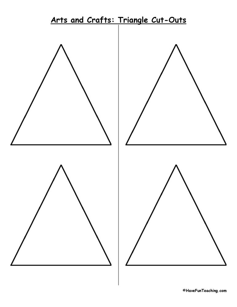 triangle cut outs math have fun teaching classroom decor nouns worksheet. Black Bedroom Furniture Sets. Home Design Ideas