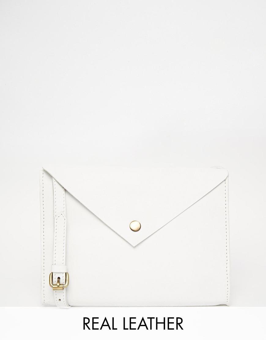 ASOS | ASOS Clean Leather Cross Body Bag at ASOS