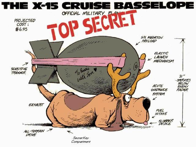 yes a basselope one of the best friend and character in bloom county