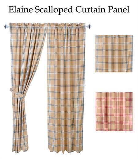 Elaine Windowpane Plaid Curtains Www Bestwindowtreatments Com