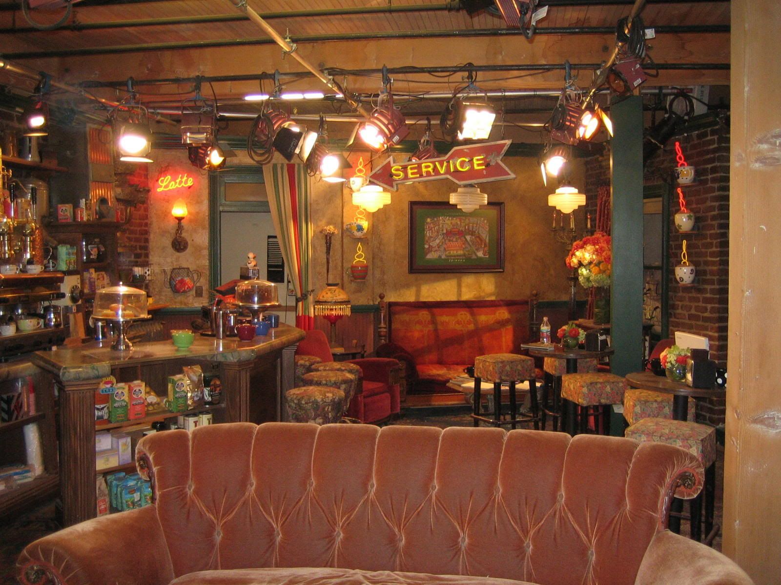 Friends Tv Show Set In Wb Studios Burbank Image