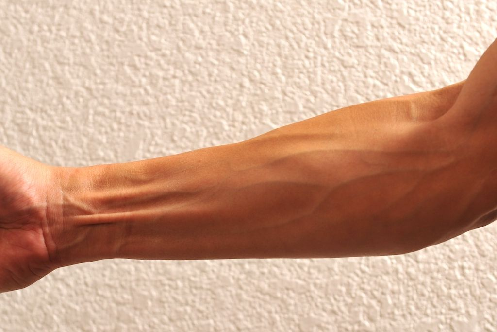 how to get veins on hand