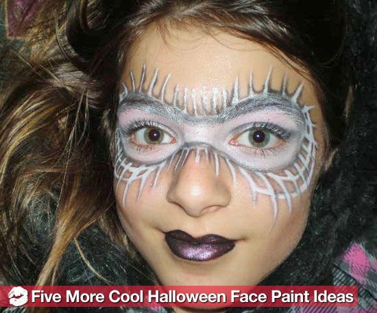 easy new halloween face paint design