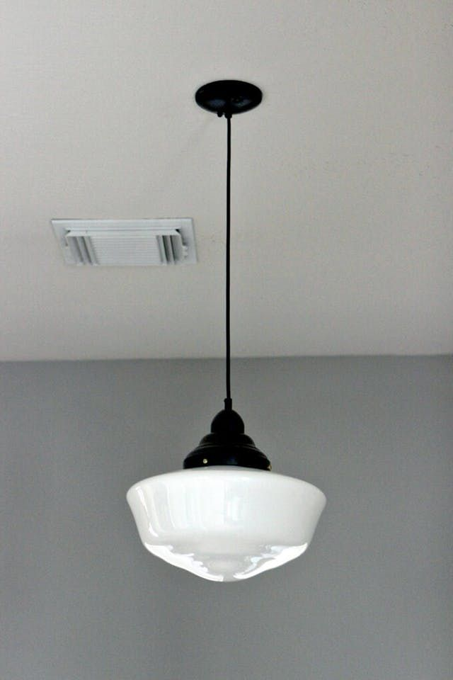 Vintage Schoolhouse Lighting The Look For Less Apartment Therapy
