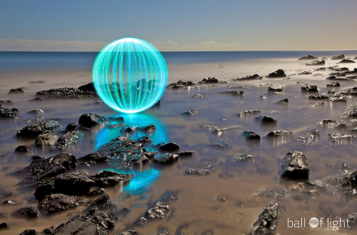 Great ball of fire?! Meet Australia's master of light and exposure photography, Denis Smith.