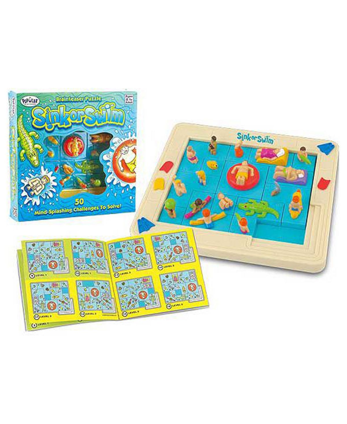 Sink Or Swim Brainteaser Puzzle Sink Or Swim Brain Teasers Learning Toys
