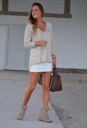 Sweter glitter